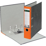 LEITZ Wolkenmarmor-Ordner, 180 Grad, din A4, 80 mm, orange
