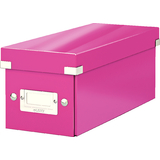 LEITZ cd-ablagebox Click & store WOW, pink