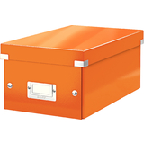 LEITZ dvd-ablagebox Click & store WOW, orange