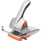 Rapid registraturlocher Fashion HDC65, silber/orange