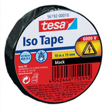 tesa isolierband ISO TAPE, 15 mm x 10 m, schwarz