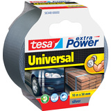 tesa folienband extra power Universal, 50 mm x 10 m, silber