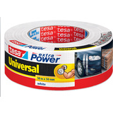 tesa folienband extra power Universal, 48 mm x 50 m, weiß