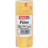 tesa film standard, transparent, 12 mm x 33 m