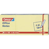 tesa office Notes Haftnotizen, 50 x 40 mm, gelb