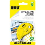 UHU kleberoller Dry & clean Roller, non-permanent