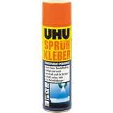 UHU Sprühkleber, permanent, transparent, 500 ml