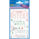 "AVERY zweckform ZDesign oster-sticker ""Frohe Ostern"""