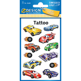 "AVERY zweckform ZDesign kids Tattoos ""Autos"""