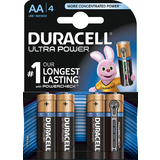 "DURACELL alkaline Batterie ""ULTRA POWER"" Mignon, 4er Blister"