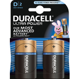 "DURACELL alkaline Batterie ""ULTRA POWER"" mono D, 2er Blister"