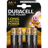 "DURACELL alkaline Batterie ""PLUS POWER"", mignon AA, 4er"