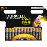 "DURACELL alkaline Batterie ""PLUS POWER"", micro AAA, 12er"