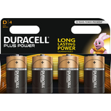 "DURACELL alkaline Batterie ""PLUS POWER"", mono D, 4er Blister"