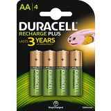 DURACELL nickel-metall-hydrid Akku recharge Plus, mignon AA