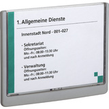 DURABLE Türschild click SIGN, din A5, graphit