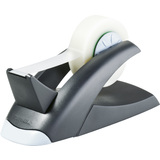 DURABLE tischabroller TAPE dispenser VEGAS, schwarz/silber
