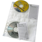 DURABLE CD-/DVD-Hülle cover M, für 4 CD's, PP, din A4