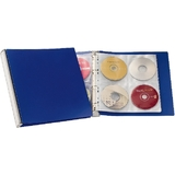 DURABLE CD-/DVD-Album 96, Ringbuch, PP, blau / silber