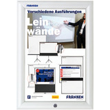 FRANKEN plakatrahmen Security, din A4, 32 mm Rahmenprofil