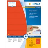 HERMA universal-etiketten SPECIAL, 105 x 37 mm, rot
