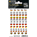 "HERMA classic Nail tattoo ""German Heart"""