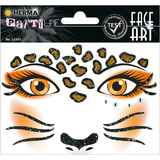 "HERMA face Art sticker Gesichter ""Leopard"""