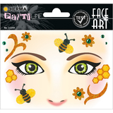 "HERMA face Art sticker Gesichter ""Honey Bee"""