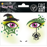 "HERMA face Art sticker Gesichter ""Hexe"""
