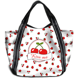 "HERMA shopping Bag ""Maxi Shopper"", Motiv: kiss Me"
