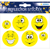 "HERMA reflektorsticker ""Happy Face"""