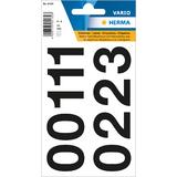 Ziffern Etiketten Nummernaufkleber 8 mm 10 x Herma Zahlenetiketten 1-540