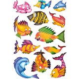 "HERMA sticker DECOR ""Bunte Fische"""