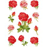 "HERMA sticker DECOR ""Rosen"""