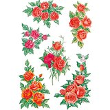 "HERMA sticker DECOR ""Rosenbouquets"""