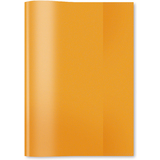 HERMA Heftschoner, din A5, aus PP, transparent-orange