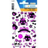 "HERMA sticker MAGIC ""Piraten Girl"", glittery"