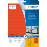 HERMA universal-etiketten SPECIAL, 25,4 x 10 mm, rot