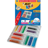 BIC kids Fasermaler kid Couleur medium, 144er Klassenpackung