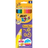 BIC kids Dreikant-Buntstifte SuperSoft, 8er Kartonetui