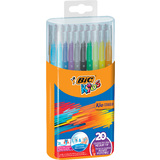 BIC kids Fasermaler kid Couleur medium, 20er Box