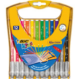 BIC kids Fasermaler kid Couleur rainbow Case, 12er Etui