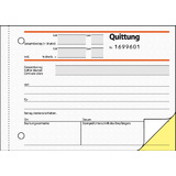 "sigel formularbuch ""Quittung"", inkl. MwSt., din A6 quer"