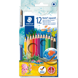 STAEDTLER aquarellstift Noris club aquarell, 12er Kartonetui
