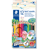 STAEDTLER buntstift Noris club erasable, 12er Kartonetui