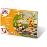 "FIMO kids Modellier-Set Create&Play ""Crazy Animals"", level 2"