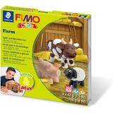 "FIMO kids Modellier-Set form & play ""Farm"", level 1"
