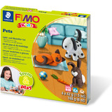 "FIMO kids Modellier-Set form & play ""Pet"", level 1"