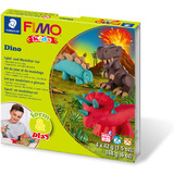 "FIMO kids Modellier-Set form & play ""Dino"", level 2"