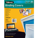 Fellowes thermobindemappe Coverlight, din A4, 3,0 mm, weiß